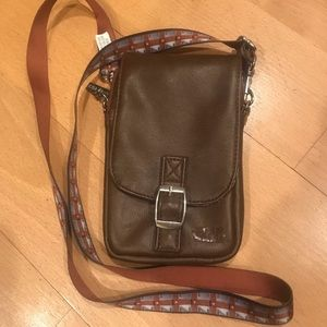 Star Wars Chewy Crossbody Bag Brown Faux Leather